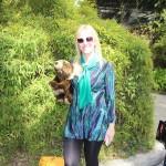 Comfort & Fashion At The LA Zoo Wearing Karina Dresses