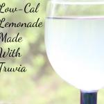 Low-Cal Lemonade Made With Truvia