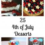 Enjoy 25 Fourth of July Red White & Blue Dessert Recipes