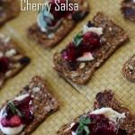Cherry Salsa With Balsamic Vinegar & Basil Recipe