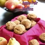 Whole Wheat Apple Pear Muffins Recipe