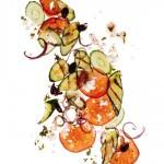 Recipe: Grilled Greek Salad