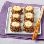 """Peanut Butter & Banana """"Sushi"""""""