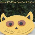 Animal Jam 3D Shape Spotting Activity & Craft