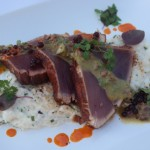 Adobo Rubbed Ahi Tuna Recipe