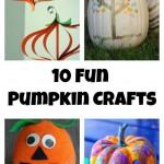 10 Ways to Make a Pumpkin Craft