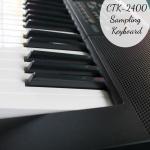 Casio CTK-2400 Sampling Keyboard: Give The Gift of Music!