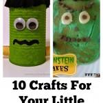 10 Halloween Crafts Fit For Your Little Frankenstein