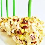 Pistachio Chewy Bite Popcorn Balls Recipe