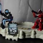 BATTROBORG Warrior Playset by Tomy Toys