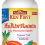 Nature Made Kids First Vitamins Benefit Make-A-Wish