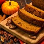 Autumn Pumpkin Bread Recipe