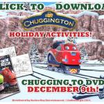 Choo, Choo! Free Printable Chuggington Holiday Color Sheets