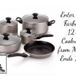 Farberware 12-Piece Cookware Set Giveaway #SeasonstoCelebrate