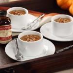 Decadent Pumpkin Custards with Maple Pecan Crunch Recipe