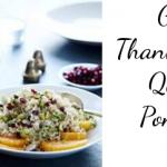 Gluten Free Thanksgiving Recipe: Quinoa With Pomegranate & Pistachio
