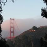 Wordless Wednesday: Sunrise Over The Golden Gate Bridge