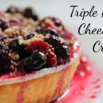 Triple Berry Cheesecake Crumble Recipe