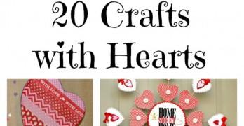 Valentine's Day DIY: 20 Heart Crafts