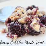 Recipe: Blackberry Cobbler Made With Truvia