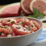 Grapefruit, Watermelon & Feta Salad Recipe