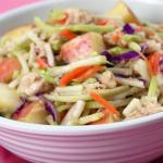 Hungry Girl's Too-Good Tuna 'n Apple Slaw Recipe