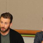 Battle of Chris Evans Vs Chris Hemsworth: Avengers Age of Ultron Interview #AvengersEvent