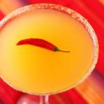 Bare Red Chili Martini Recipe
