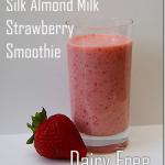 Truvia Sweetened Vanilla Almond Milk Strawberry Banana Smoothie