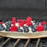 Red, White and Blue Dessert Quesadilla Recipe