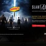 Marvel's The Fantastic 4 Slamt4stic Denny's Meals #DennysDiners