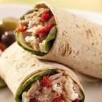 Mediterranean Tuna Wrap Recipe