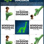 The Good Dinosaur Activity Sheets #GoodDino