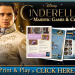Printable Cinderella Crafts & Games