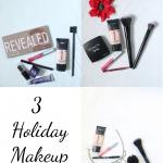 3 Holiday Makeup Tutorials