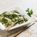 Recipe: Ravioli With Brown Butter & Asparagus