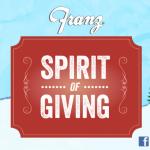 Franz Spirit of Giving: #Giveaway #SpiritofGiving
