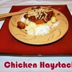 Easy Holiday Cooking with Crazy Cuizine: Chicken Teriyaki Haystacks Recipe