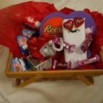 Valentine's Day Chocolate Critter Craft In A Basket #HSYMessageOfLove #AD
