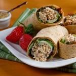 Salmon Mustard Wrap Recipe