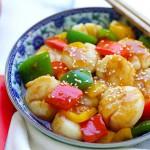 Szechuan Scallops Recipe