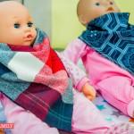 DIY Baby Scarf Bibs Tutorial