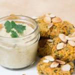 Sweet Potato Almond Fritters Recipe