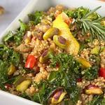 Recipe: Quinoa Kale Risotto With Pistachios