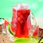 Watermelon & Hibiscus Agua Fresca Recipe
