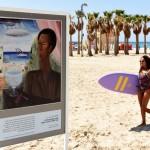 See Works of Art on The Tel Aviv Beach