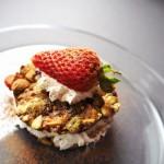 Pistachio Chewy Bite Strawberry Shortcake Recipe