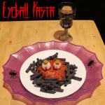 Halloween Eyeball Pasta Recipe