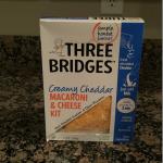Loving The Convenience of Three Bridges New Macaroni & Cheese Kits