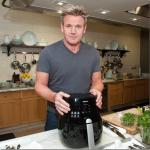 Gordon Ramsay's BBQ Glazed Bacon, Sunny Side-Up Eggs, Toasted Croissant